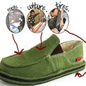 Ethiopia's soleRebels fair trade shoes: green by heritage
