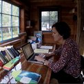 Montana accessory dwelling as writer's retreat & guest cabin