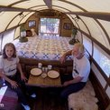 Sheep wagons as classic campervan: the Airstream of pioneers