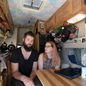 #vanlife with no filter: couple records work/life on wheels