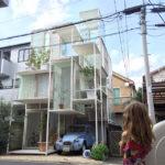 Transparent house Tokyo