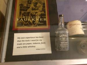 Faulkner y su bourbon