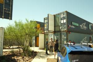 Contenedores logísticos como apartamentos