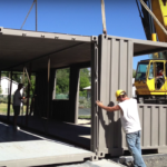 Affordable shipping container structure in Utah