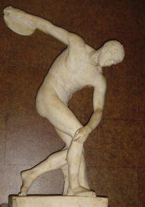 El discóbolo (Mirón); copia romana