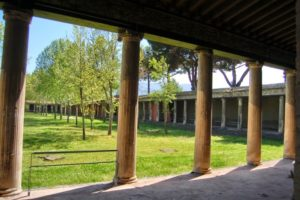 El gimnasio de Pompeya