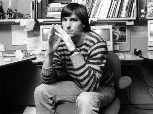 Steve Jobs (foto de Norman Seeff para Rolling Stone, 1984)
