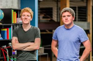 """Los hermanos Collison, de la startup """"unicornio"""" Stripe"""
