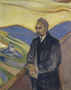 Retrato de Nietzsche (Edvard Munch, 1906)