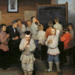 """Aritmética mental"" (Bogdanov-Belsky, 1895)"