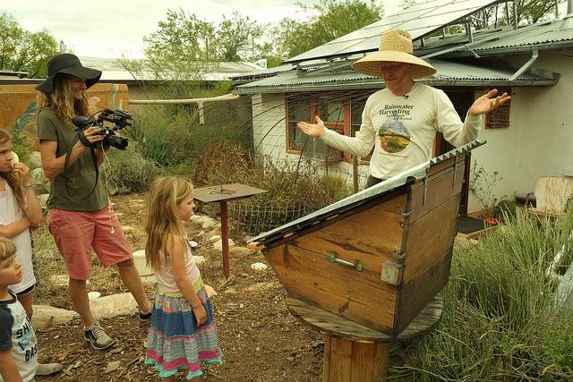 Aprendiendo con Brad Lancaster (Tucson, AZ)