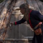 Saami hut: Arctic ancestral survivalism