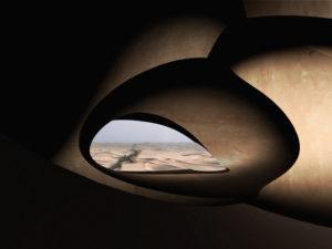 Dune, proyecto conceptual de Magnus Larsson en el Sáhara, se sirve de bacterias para producir piedra caliza