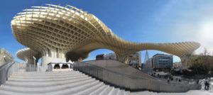 Metropol Parasol (Jürgen Mayer, Sevilla) muestra cómo el respeto por un entorno con vestigios históricos no tiene por qué bloquear la inspiración