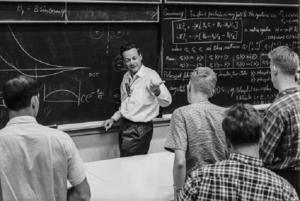 Después del Proyecto Manhattan, el físico teórico Richard Feynman se dedicó a la investigación y al mundo académico, obteniendo el Nobel de Física en 1965