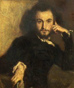 Retrato del joven Charles Baudelaire (Émile Deroy, 1844)