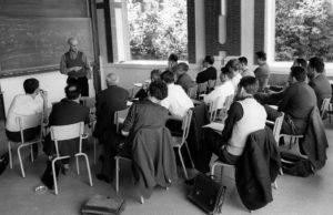 Alexander Grothendieck, durante su primera etapa como profesor en Bures-sur-Yvette (Essonne, Isla de Francia)