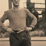 Alexander Grothendieck a los 20 años, durante una etapa de formación en la que descubrió por su propio pie teoremas ya conocidos, aportando a menudo metodologías inéditas