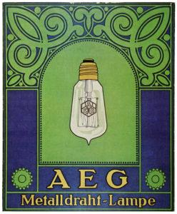 La empresa AEG contribuyó a crear conceptos como identidad corporativa, usabilidad y diseño industrial, gracias al trabajo de su consultor artístico Peter Behrens