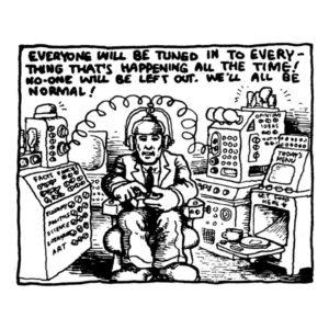 Intuiciones de Robert Crumb a finales de los 60