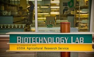 Laboratorio de biotecnología en Estados Unidos (crédito: Basf, Flickr CC)