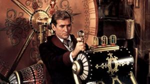 """Fotograma de la adaptación cinematográfica de """"La máquina del tiempo"""" (1960), basada en la novela homónima de H.G. Wells (1895)"""
