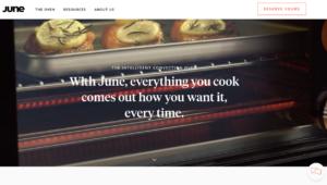"""En el sitio de June, se lee: """"Con June, todo lo que cocinas sale como tú lo quieres, en cada ocasión""""; quienes lo han probado tienen una opinión algo más crítica sobre este tostador de 1.500 dólares"""
