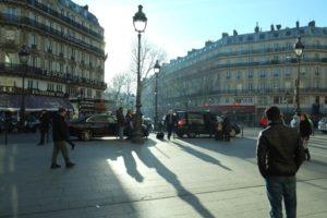 Vistas desde el acceso sur de la Gare du Nord