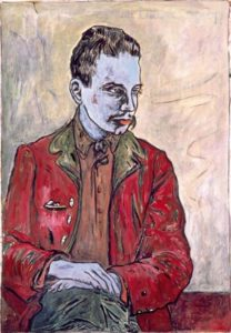 Retrato de un joven Rainer Maria Rilke (Knut Odde, 1897)