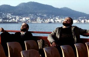 """Fotograma de la película española """"Los lunes al sol"""" (Fernando León de Aranoa, 2002)"""