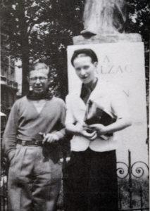 """Jean-Paul Sartre y Simone de Beauvoir: el concepto existencialista de """"mala fe"""" expone que, en vez de ser auténticos con nosotros mismos, a menudo optamos por la inercia y por comportamientos que sustituyen como un sucedáneo nuestros anhelos reales"""