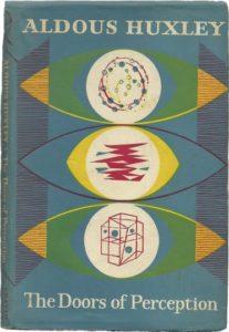 """Portada de la edición original en inglés de """"Las puertas de la percepción"""", ensayo escrito por Aldous Huxley en 1954"""