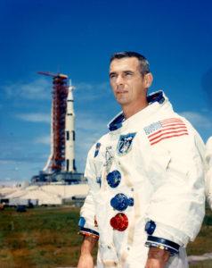 """El último hombre en pisar la luna (y fallecido el 16 de enero de 2017): Eugene """"Gene"""" Cernan"""