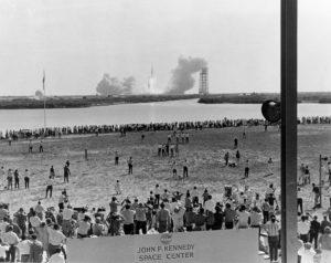 Despegue del Apolo 11. Crédito: Archivo de la NASA