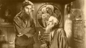 """Fotograma de la adaptación cinematográfica de """"El conde de Montecristo"""" (Rowland V. Lee, 1934), con Robert Donat en el papel de Dantés-Montecristo"""