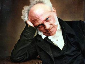 """Arthur Schopenhauer, melómano y pesimista cósmico; acuñó el concepto de """"voluntad de vivir"""", influyente en Nietzsche y Tolstói, entre otros"""