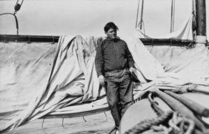 Jack London, durante su largo periplo por el Pacífico