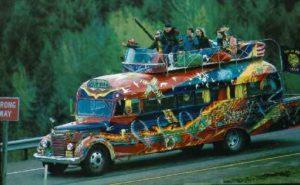 Furthur (o Further) Bus, el autobús de los Merry Pranksters