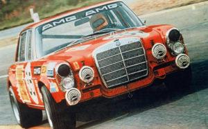 Uno de los Mercedes-Benz diseñados por Paul Bracq: la versión de competición (AMG) y 6,8 litros V8 de la berlina de altas prestaciones 300SEL de Mercedes-Benz (años 60): ¿permitirá el futuro personalizar viejos conceptos con opciones como conducción autónoma y tren eléctrico o de hidrógeno?