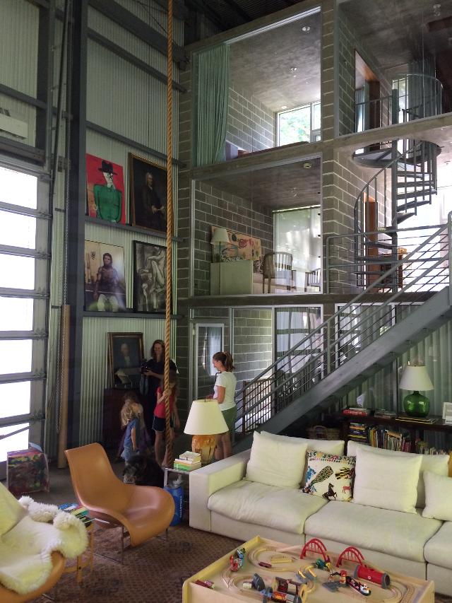 Farmhouse In A Hangar Nj Modern Home Creates A World